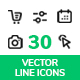 E-commerce and Interface Icons
