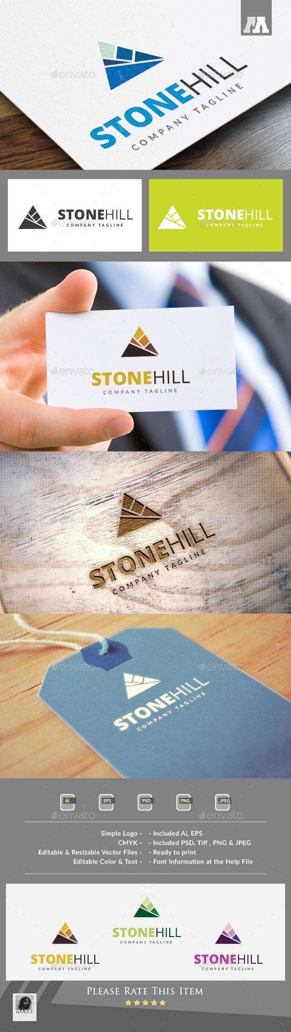 Stone Hill - Symbols Logo Templates