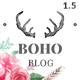 Bohopeople Personal WordPress Blog Theme