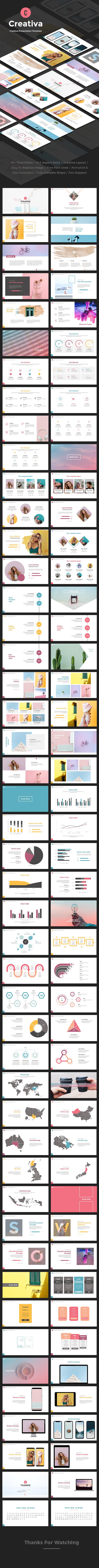 Creativa Google Slides - Google Slides Presentation Templates