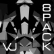 Abstract Monochrome VJ Pack - VideoHive Item for Sale