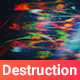 Digital Destruction Backgrounds