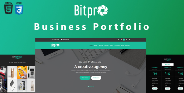 Image of BitPro-Multipurpose Business and Corporate Template