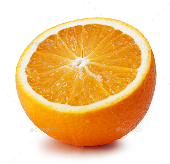 fresh ripe orange - Stock Photo - Images