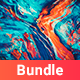 480 Abstract Painting Backgrounds Bundle