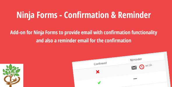 Ninja Forms - Confirmation & Reminder - CodeCanyon Item for Sale