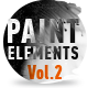 Paint Elements Vol 2 - Expanding Splatters - VideoHive Item for Sale