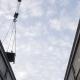 Crane Working. Moving Equipment