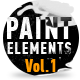 Paint Elements Vol 1 - Splatter - VideoHive Item for Sale