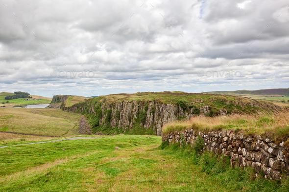 Northumberland Landscape - Stock Photo - Images