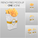 French Fries Mockup - GraphicRiver Item for Sale