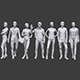 Lowpoly People Casual Pack Vol.11