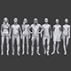 Lowpoly People Casual Pack Vol.12 - 3DOcean Item for Sale