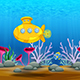 Cartoon Submarine - VideoHive Item for Sale