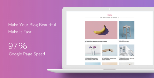 Nubia - Responsive & Multipurpose Ghost Theme - Ghost Themes Blogging