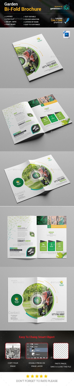 Garden Bi-fold Brochure - Brochures Print Templates