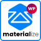 Materialize - Material Design Multipurpose WordPress Theme - ThemeForest Item for Sale