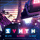 Synthwave Flyer v5 - Inception Retrowave Series Poster Template - GraphicRiver Item for Sale