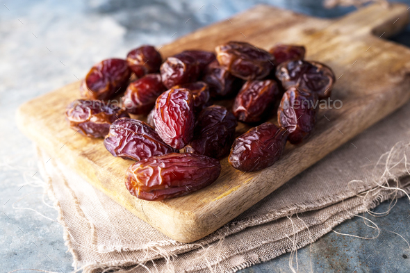 Delicious dried dates - Stock Photo - Images