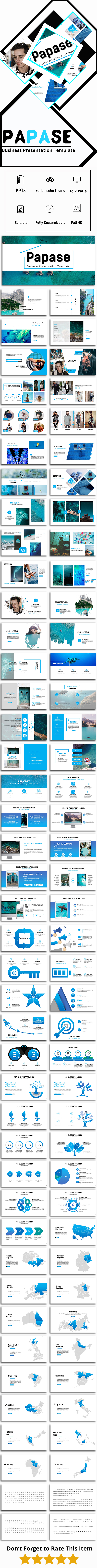 Papase - Business Powerpoint Template - Business PowerPoint Templates