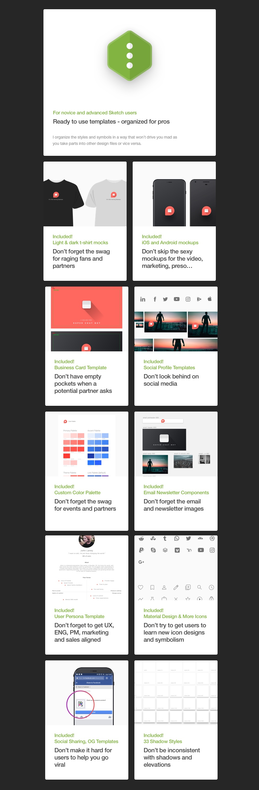 Company In A Box Launch Ux Sketch Template By Medialocal