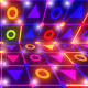 Flickering Neon Colorful Background - VideoHive Item for Sale