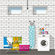 Equipment of Basement - GraphicRiver Item for Sale