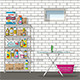Equitment of Basement - GraphicRiver Item for Sale