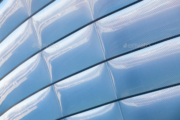 Contemporary Building Texture Detail - Stock Photo - Images