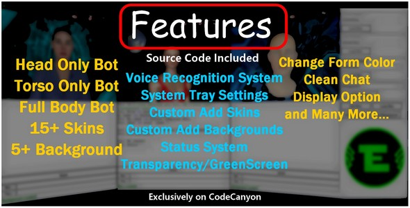 Artificial Intelligence 3D Chatbot - CodeCanyon Item for Sale