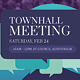 Town Hall Meeting Flyer - GraphicRiver Item for Sale
