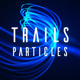 Particle Titles | Trails - VideoHive Item for Sale