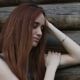 Portrait of a Beautiful Sad Young Woman Outdoor - VideoHive Item for Sale