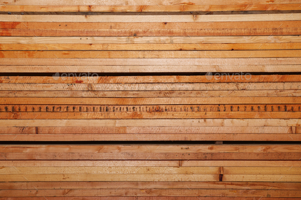 Closeup pattern cutting wood stack for background - Stock Photo - Images