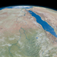 Nile River in Planet Earth