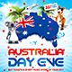 Australia Day Party Flyer vol.7