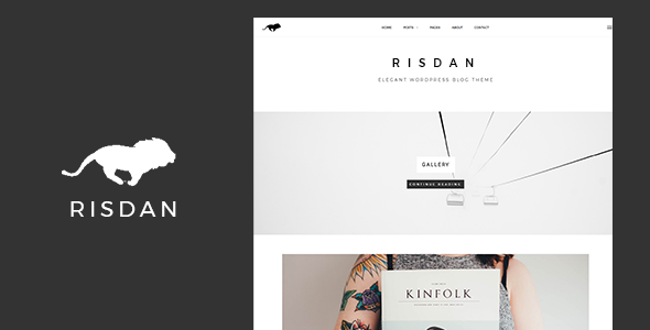 Risdan - Personal & Elegant WordPress Theme