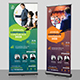 Annual Corporate Conference Roll-Up Banner Template