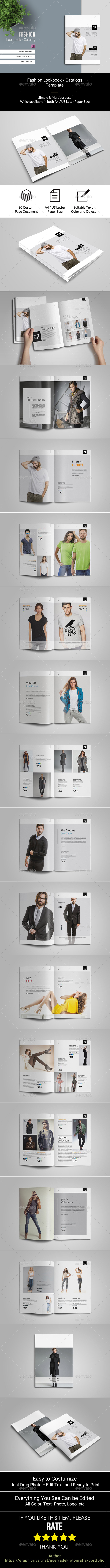 Fashion Product Brochure Catalog - Catalogs Brochures