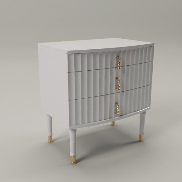 Elegant nightstand - 3DOcean Item for Sale