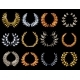 Premium Elegant Wreathes Set
