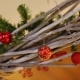 Branches Are Decorated with Red New Year Balls - VideoHive Item for Sale
