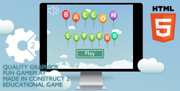 CodeCanyon Ballon Letters Educational 21216627