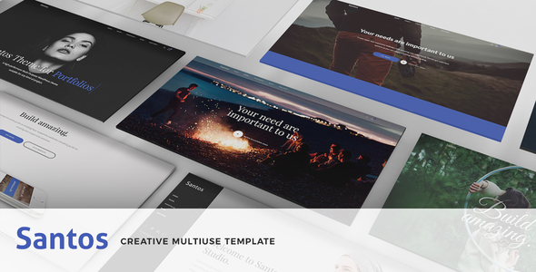 ThemeForest Santos Modern Multi-Purpose Template 21116889