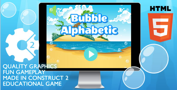 CodeCanyon Bubble Alphabetic Educational 21216988