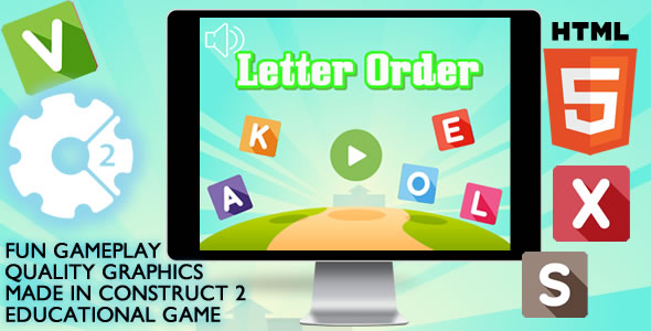 Letter Order Educational - CodeCanyon Item for Sale