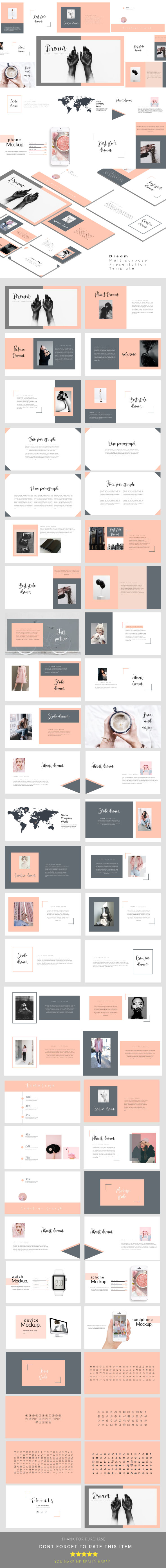 Dream - Multipurpose Presentation Templates - PowerPoint Templates Presentation Templates
