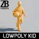 Lowpoly Kid 013