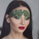 Fashion Makeup. Woman with Colorful Makeup and Body Art - VideoHive Item for Sale