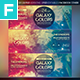 Galaxy Colors Facebook Cover - GraphicRiver Item for Sale